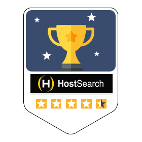 Reviews us on Host Search